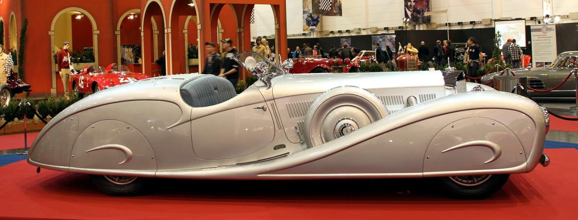 Power Cars Mercedes Benz 500 K By Erdmann Amp Rossi