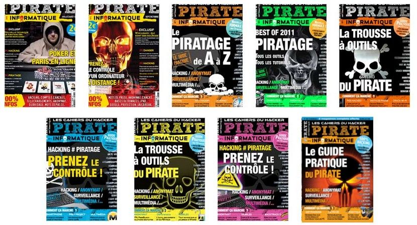 Pirate Informatique N°5 à 15