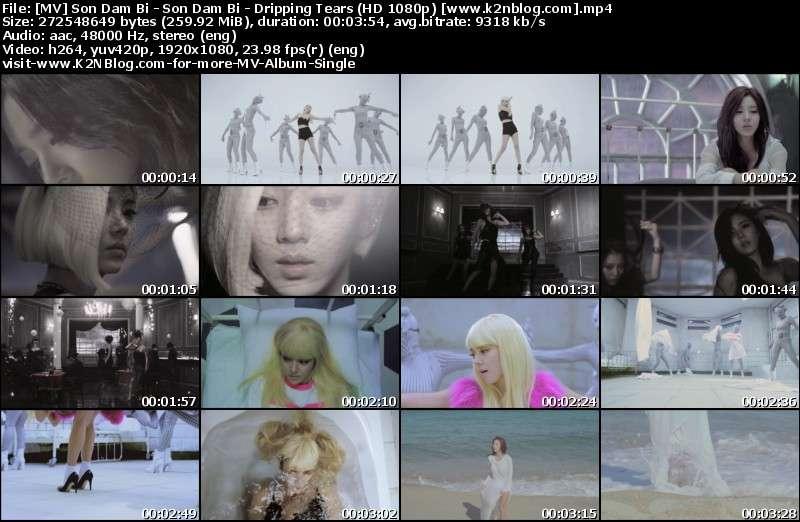 [MV] Son Dam Bi - Son Dam Bi - Dripping Tears (HD 1080p Melon)